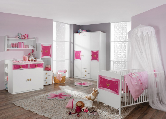 g nstige m bel online bestellen kitty babyzimmer 3tlg. Black Bedroom Furniture Sets. Home Design Ideas