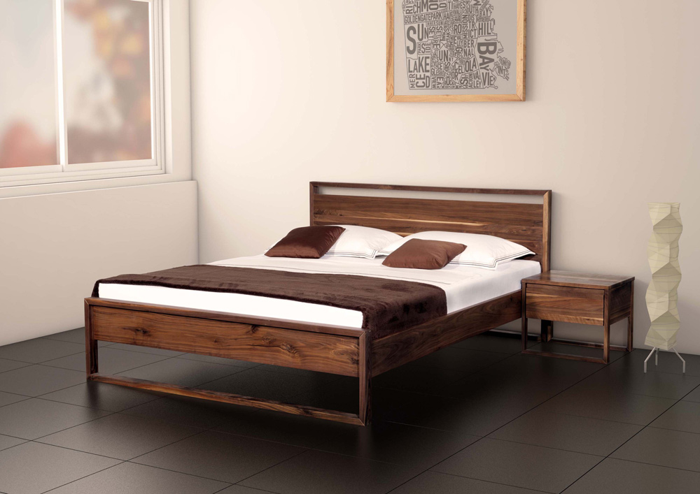 g nstige m bel online bestellen terzo bett nussbaum massiv ge lt neue modular ag. Black Bedroom Furniture Sets. Home Design Ideas