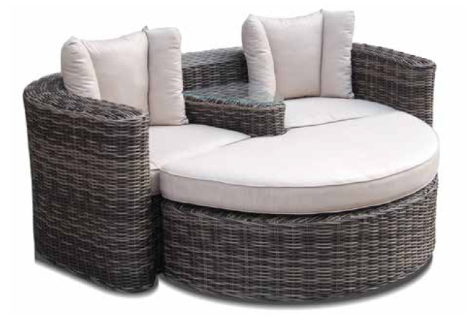 rattan lounge grau g nstig. Black Bedroom Furniture Sets. Home Design Ideas