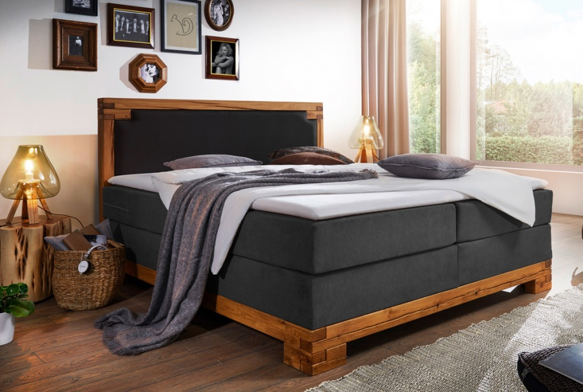 g nstige m bel online bestellen boxspringbett alpina. Black Bedroom Furniture Sets. Home Design Ideas