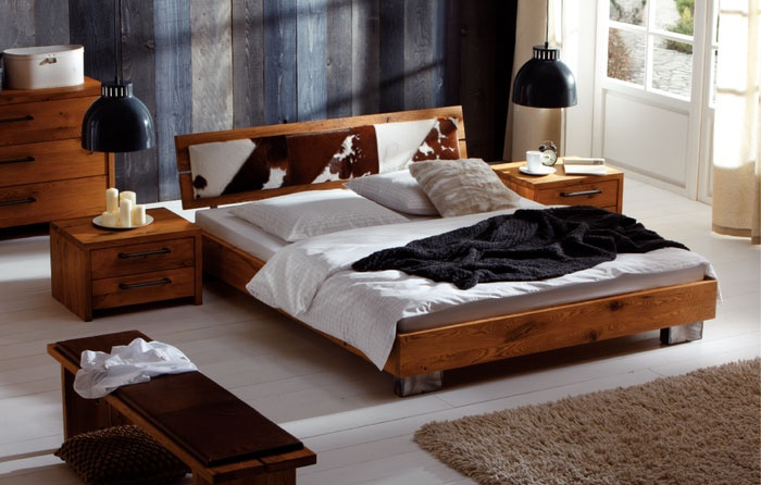 g nstige m bel online bestellen hasena bett cadro wildeiche massiv aus der oak line wild. Black Bedroom Furniture Sets. Home Design Ideas